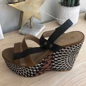 Cute & comfortable Rachel Roy wedges